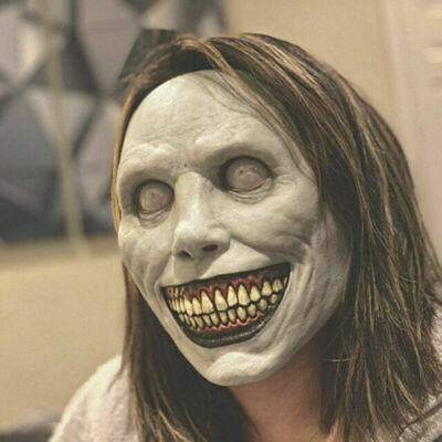 £10.99 • Buy Creepy Mask Headgear Smiling Demons Masks Evil Cosplay Scary Costume Party Props