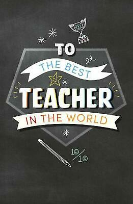 £8.49 • Buy To The Best Teacher By Pop Press Hardcover Book Free Shipping!