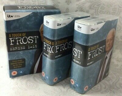 £22.43 • Buy ITV A Touch Of Frost Series 1-15 Complete 2 Volumes Every Episode Together Y207