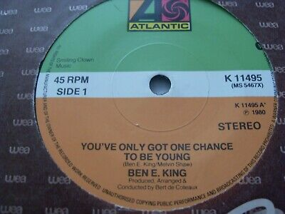 £1.50 • Buy Ben E. King.....you`ve Only Got One Chance To Be Young.....7 ..1980....soul Funk