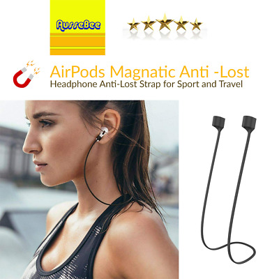 AU7.50 • Buy Anti Lost Strap String Rope Silicone Holder Cable Cord Airpods Earbuds Earphone