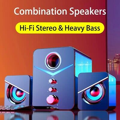 £26.03 • Buy Home Theater System PC Bass Subwoofer Bluetooth Speaker Music Boombox