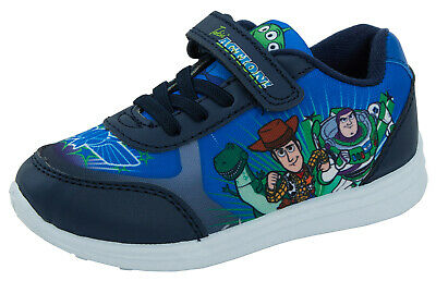 £16.95 • Buy Boys Toy Story Trainers Disney Elastic Easy Fasten Sports Sneakers Shoes Size