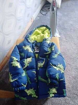 £2.40 • Buy Boys Quilted Winter Coat Age 2-3 Years 🦌