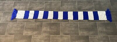 £5.50 • Buy Blue And White Football Supporters Scarf-leicester, Chelsea, Everton