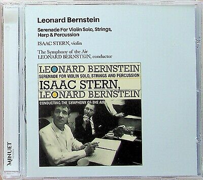 £4.99 • Buy BERNSTEIN- Serenade For Violin Solo, Strings, Harp & Percussion Isaac STERN CD