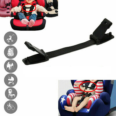 £4.89 • Buy Car Seat Buggy Highchair Safety Harness Strap Lock Anti Escape Child Chest Clip