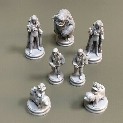 AU17.03 • Buy Lot 7 PCS Miniature For Dungeons & Dragon D&D Figures Board Game Toy WARRIOR