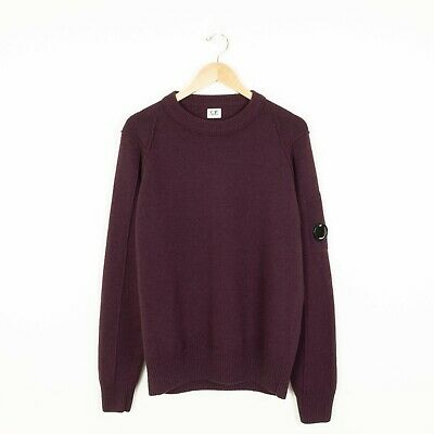 £84.99 • Buy CP COMPANY Men's Wool Blend Lens Jumper - Size 54 (XXL) - Excellent Condition