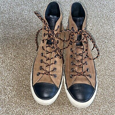 £22.99 • Buy Converse CHESTNUT BROWN SUEDE HI TOP TRAINER BOOTS SHOE All Star Size 9