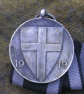 £13.55 • Buy GERMAN Freikorps 1919 - Memorial Medal Of The Iron Division - Awalo