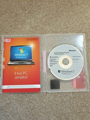 £15.95 • Buy Windows 7 Professional 64-bit Installation Disk With Case (x17-05267-02) Italy?