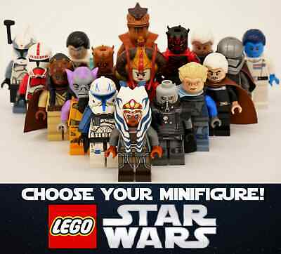 £10.89 • Buy Genuine LEGO Star Wars - Choose Your Minifigures! Rare, New And Used Available