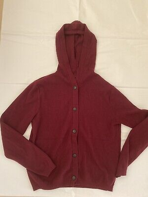 £6.50 • Buy Abercrombie And Fitch Hoodie. Burgundy Color. Size S. Very Good Condition