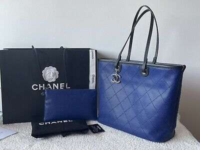 AU2700 • Buy Authentic Chanel Quilted Caviar Fever Tote