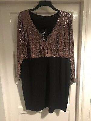 £3 • Buy Ladies Size 24 Sparkly Stretchy Dress  Yours