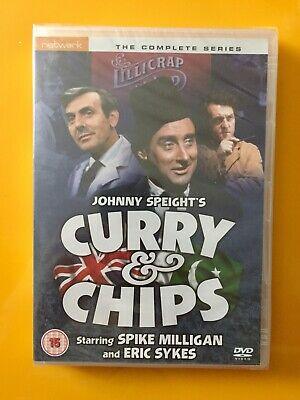 £49.95 • Buy Rare New DVD * CURRY AND CHIPS Complete Series [1969] Spike Milligan, Eric Sykes