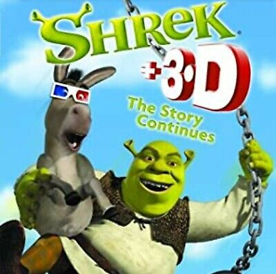 £0.99 • Buy Shrek - The Story Continues (DVD, 2004, 2-Disc Set) +3D Disc With Glasses