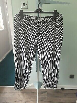 £3.40 • Buy Gap Slim Fit Cropped Summer Trousers Size 16