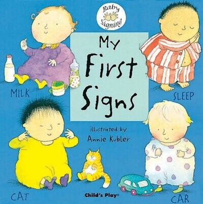 £8.84 • Buy My First Signs   BSL British Sign Language - Board Book.. - B245b