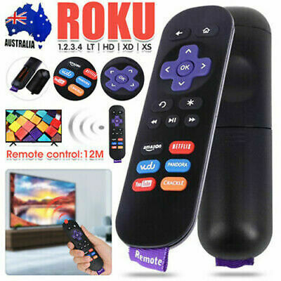AU8.16 • Buy Replacement IR Roku 4 3 2 1 Telstra TV TV2 Remote With NETFLIX Button AU Stock