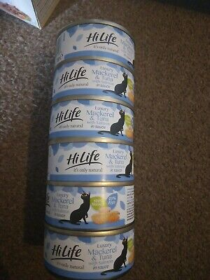 £4.75 • Buy Hilife Its Only Natural Luxury Tin Cat Food In Sauce -6 X 70g