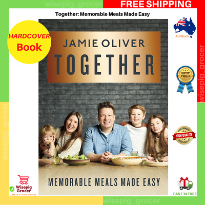 AU29.70 • Buy Together By Jamie Oliver   HARDCOVER BOOK   FREE SHIPPING NEW AU