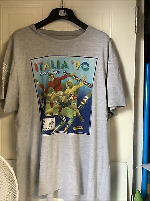 £9.99 • Buy Italia 90 World Cup T-shirt (Panini Heritage Fifa World Cup Collection) XL