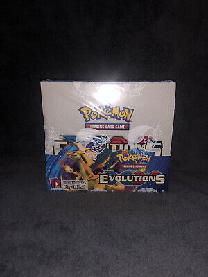 $800 • Buy Pokemon TCG: XY Evolutions Sealed Booster Box - Pack Of 36