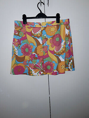 £2.99 • Buy Women's Mini Skirt By River Island Multi Coloured Size UK14 Great Condition