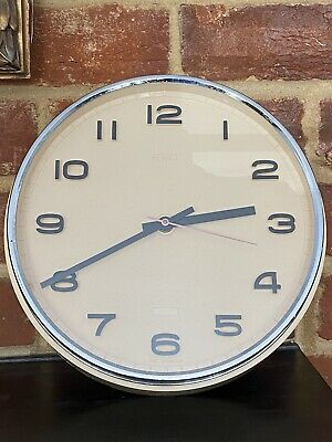 £14.95 • Buy Vintage Metamec Wall Clock Battery Fully Working - 1970's - ONLY HAD ONE OWNER!