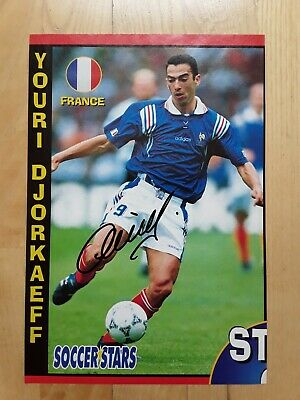 £2.50 • Buy Hand-signed Youri Djorkaeff (bolton Wanderers Fc & France) Football Mag Picture