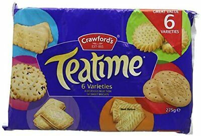 £5.10 • Buy Crawford's Teatime Assorted Biscuits 275g (Pack Of 1)