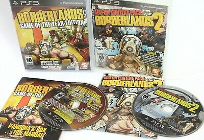 £7.27 • Buy Sony PS3  Borderlands Game Of The Year  +  Borderlands 2 Add-On Content Pack