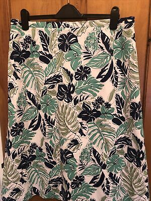 £3 • Buy Ladies Skirt. Cotswold Collection Tropical Flower Size  20