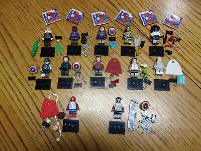 £41.68 • Buy IN HAND New 2021 71031 Lego Marvel Complete 12 Pcs. Set READY TO SHIP!!!!