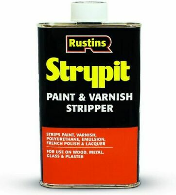 £15.75 • Buy Rustins Strypit Paint & Varnish Stripper Wood Metal Glass Lacquer Masonary 500ml
