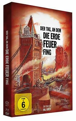 £29.95 • Buy THE DAY THE EARTH CAUGHT FIRE *1961 / 2 Special Disc Mediabook NEW Blu-Ray + DVD