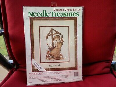 £14 • Buy The Littlest Candle, Hummel Cross Stitch Kit By Needle Treasures - 8  X 10