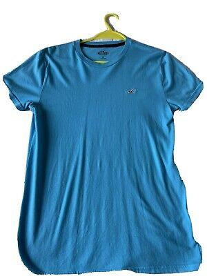 £0.99 • Buy Hollister Turquoise T Shirt In Good Condition Age 14-15