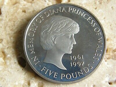 £9.99 • Buy RARE  COIN HUNT £5 FIVE POUND COIN PROOF 1999 Diana Princess Of Wales   BUNC