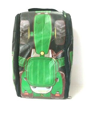 AU34.36 • Buy John Deere Tractor Children's Backpack Unzips Into A Play Mat Tomy