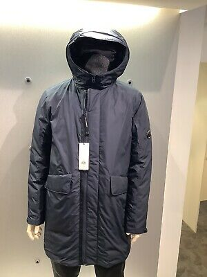 £299 • Buy Cp Company Padded Long Micro-m Col Navy Parka RRP£650.00 Size 54 Uk XXL