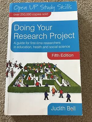 £3.75 • Buy Doing Your Research Project Used Whilst At University Guide For Students