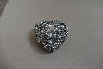£1 • Buy Small Sequin Decorated Heart Shaped Box