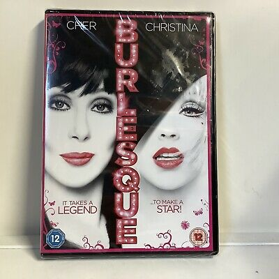 £4.99 • Buy Burlesque (DVD, 2011) New Sealed Rated 12 Cher Christina Aguilera
