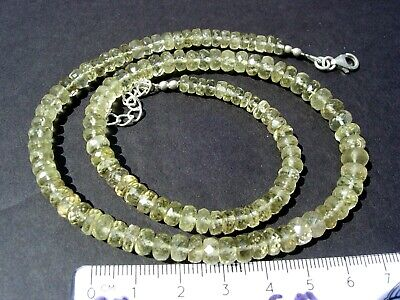 £326.62 • Buy 108 Carats 7x4 Down To 5x2mm Beads Libyan Desert Glass Necklace Meteorite Impact