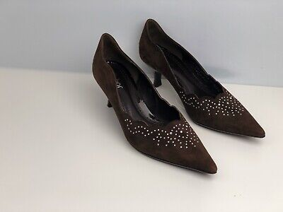 £20 • Buy Gabor Women's Brown Suede Court Shoes UK Size 4.5