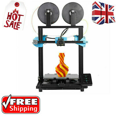 £149 • Buy Sovol SV02 Dual Extruder 3D Printer 280*240*300mm Touch Screen Silent Board UK