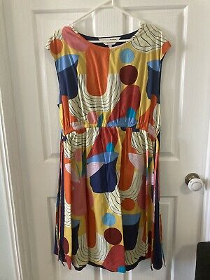 AU80 • Buy Ladies Gorman Dress Size 14 Colourful And Cool